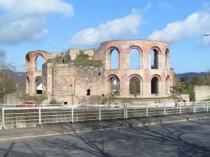 Überreste der Kaisertherme Trier - Quelle: Wikipedia
